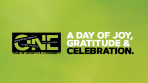 Let's Celebrate: A day of gratitude and celebration