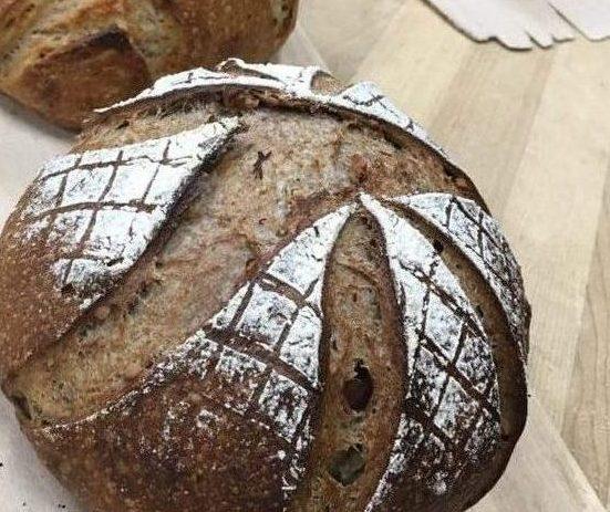 Backwards bread company loaf of bread
